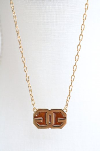 <img class='new_mark_img1' src='https://img.shop-pro.jp/img/new/icons14.gif' style='border:none;display:inline;margin:0px;padding:0px;width:auto;' />【vintage】GIVENCHY / GG logo motif chain necklace