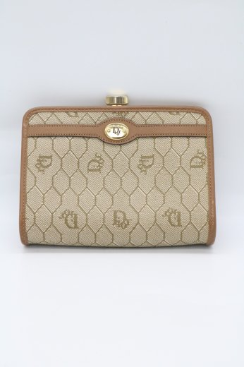"""<img class='new_mark_img1' src='https://img.shop-pro.jp/img/new/icons14.gif' style='border:none;display:inline;margin:0px;padding:0px;width:auto;' />【vintage】Christian Dior / """"Dior"""" monogram purse pouch"""
