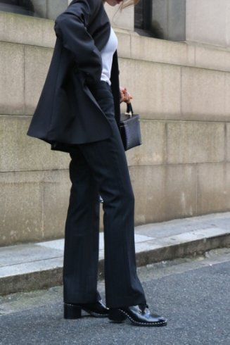 <img class='new_mark_img1' src='https://img.shop-pro.jp/img/new/icons14.gif' style='border:none;display:inline;margin:0px;padding:0px;width:auto;' />【vintage】Christian Dior / boots cut slacks