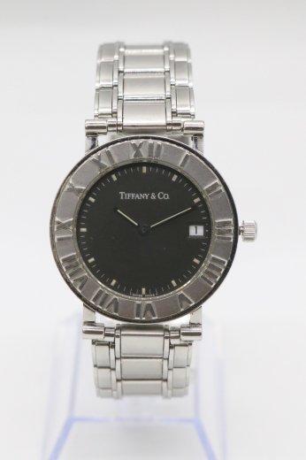 <img class='new_mark_img1' src='https://img.shop-pro.jp/img/new/icons14.gif' style='border:none;display:inline;margin:0px;padding:0px;width:auto;' />【vintage】Tiffany&Co. Atlas® / atlas clock motif bezel quartz