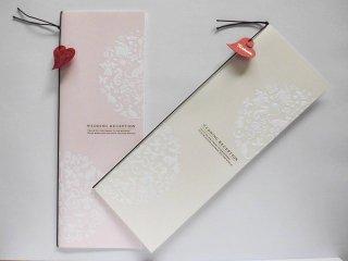 結婚披露宴 席次表 手作り用紙キット フォルトゥナ(ゴールド・ピンク)
