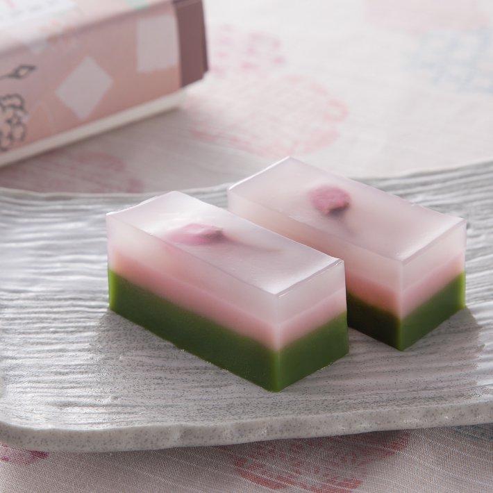 【春季限定】豆腐屋さんの桜水ようかん