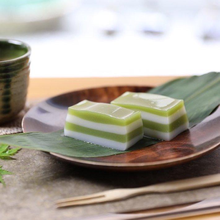 豆腐屋さんの抹茶豆乳水ようかん
