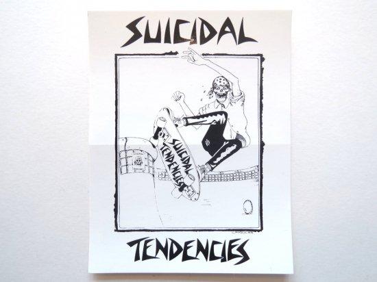 SUICIDAL TENDENCIES スイサイダルテンデンシーズ  POOL SKATER  STICKER ステッカー
