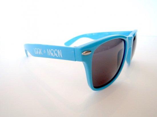 MOONEYES ムーンアイズ  MQQN Equipped Retro Sunglasses サングラス ネオンブルー