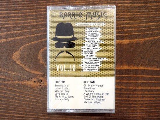 BARRIO MUSIC VOL.10  TAPE CASSETTE STEREO