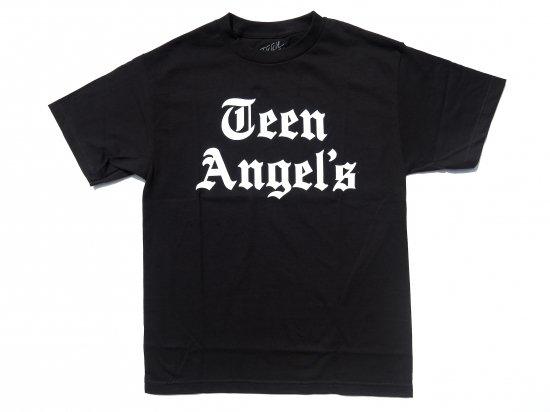 TEEN ANGELS ティーンエンジェル OLD SKOOL  T-shirt BLACK ブラック