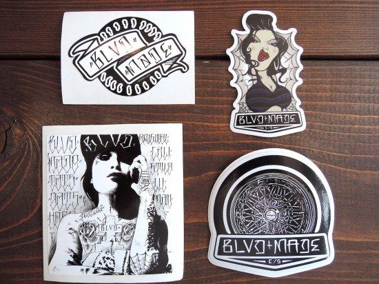 BLVD MADE ブールバードメイド Original Sticker  B
