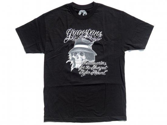 Greenspan's グリーンスパンズ  Brad Mariachi    S/S Tシャツ BLACK