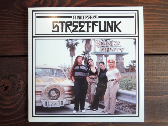 FUNK FREAKS ファンクフリークス STREET FUNK VOLUME TWO  DISC 1/3 7inch Record