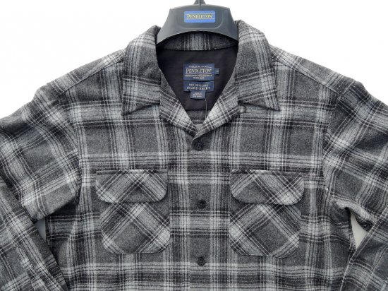 PENDLETON ペンドルトン Board Shirts  BLACK/GREY MIX PLAID