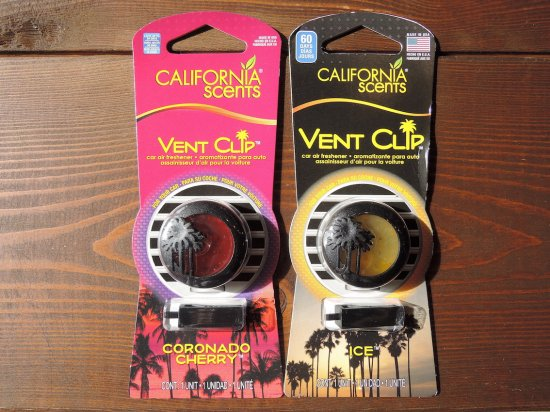 CALIFORNIA SCENTS VENT CLIP クリップ