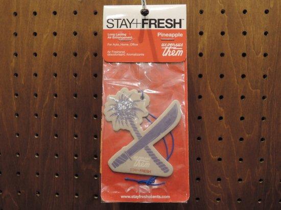 STAY FRESH ステイフレッシュ x US VERSUS THEM アスバーサーゼム Cross Cut パイン