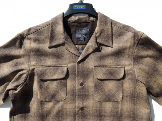 PENDLETON ペンドルトン Board Shirts  BROWN OMBRE