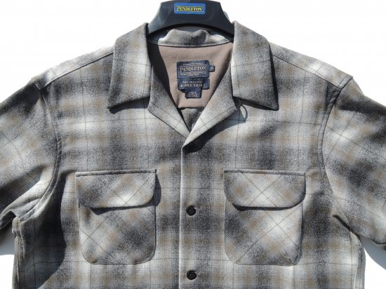 PENDLETON ペンドルトン Board Shirts GRAY CREAM  OMBRE