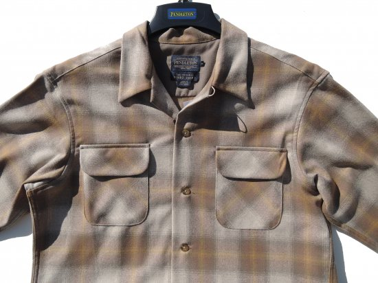 PENDLETON ペンドルトン Board Shirts TAN GOLD  OMBRE