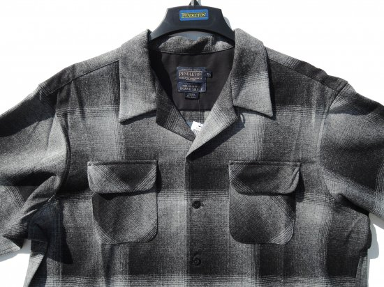 PENDLETON ペンドルトン Board Shirts CHARCOAL  OMBRE