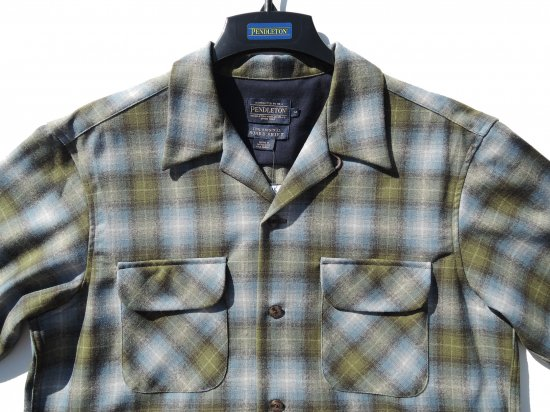PENDLETON ペンドルトン Board Shirts GREEN/BLUE/ GRAY PLAID