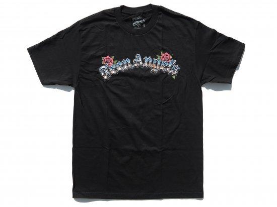 TEEN ANGELS ティーンエンジェル ARC LOGO  T-shirt  BLACK ブラック