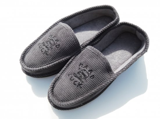 HARD LUCK  Hard Times House Slippers Grey ハウスシューズ