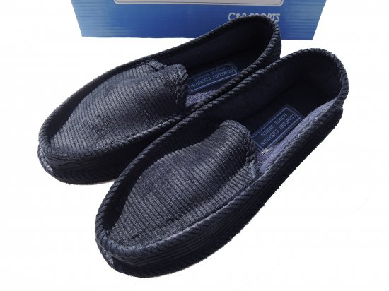 C&B SPORTS HOUSE SHOES  House Slippers  ハウスシューズ NAVY
