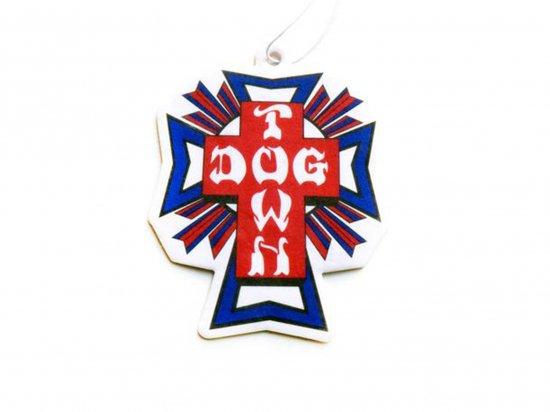 DOGTOWN  ドッグタウン AIR FRESHENER エアフレッシュナー Cross Logo USA