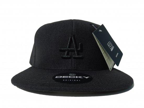 ACERS INC. エーサーズ  LOS ACERS SnapbackCap  BLACK x BLACK DE