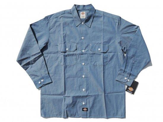 DICKIES WL509 CHAMBRAY L/S SHIRT シャンブレーシャツ 長袖シャツ