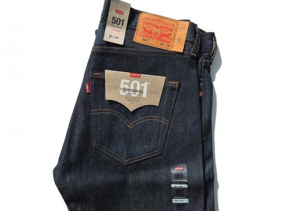 LEVI'S 501 リーバイス Original SHRINK TO FIT RIGID レギュラーストレート インディゴリジット  L30