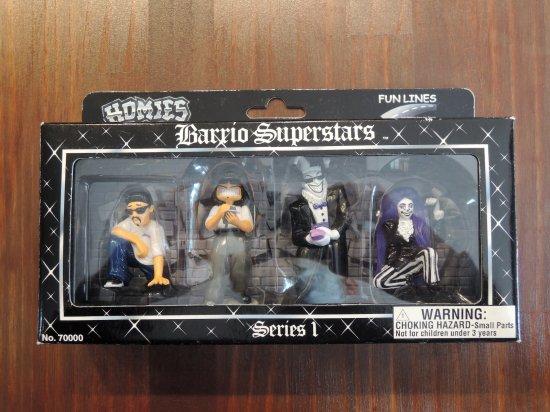 HOMIES  ホーミーズ Barrio Superstars Series1 Figure Set フィギュアセット