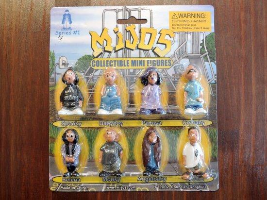 HOMIES  Mijos Figure Set Series #1 フィギュアセット