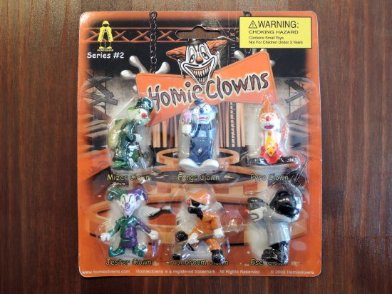 HOMIES HOMIE CLOWNS  ホーミークラウンズ  Figure Set Series #2 フィギュアセット