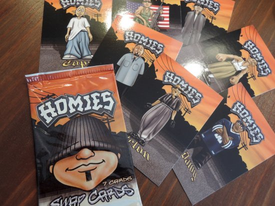 HOMIES  ホーミーズ SWAP CARDS  1PACK=7枚入り