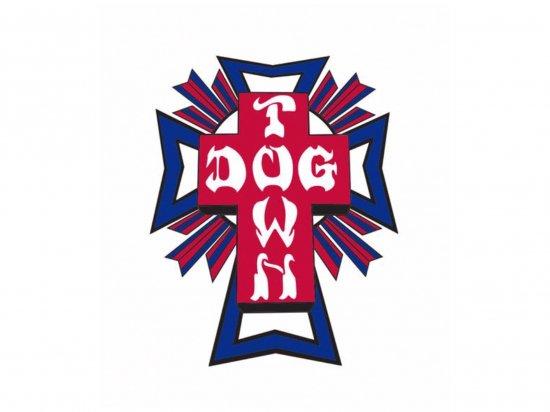 DOGTOWN  ドッグタウン Sticker  Cross Logo USA