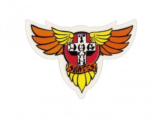 DOGTOWN  ドッグタウン Sticker Wings Orange
