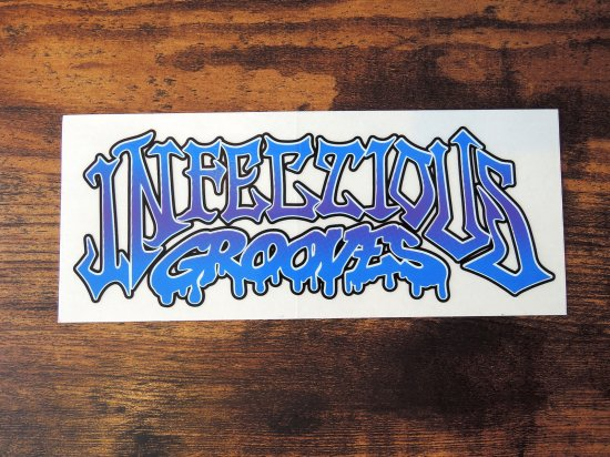 INFECTIOUS GROOVES   IGLS  STICKER ステッカー