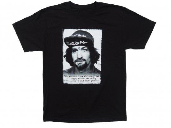 Suicidal Tendencies  T-Shirt TS66 Charlie Black