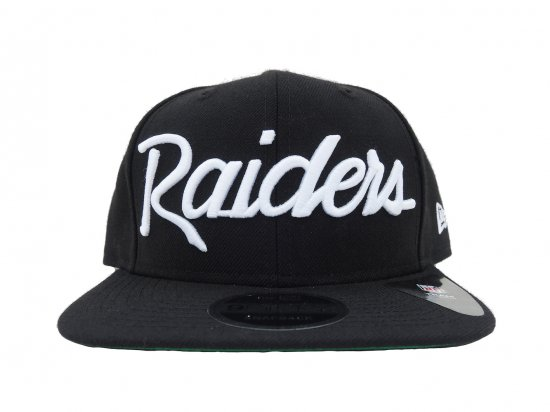 NEW ERA ニューエラ 9FIFTY  Oakland  Raiders  Snapback Cap BLACK