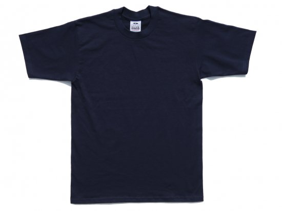 PRO CLUB プロクラブ  Men's Heavyweight Short Sleeve Tee NAVY