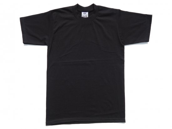 PRO CLUB プロクラブ  Men's Heavyweight Short Sleeve Tee BLACK