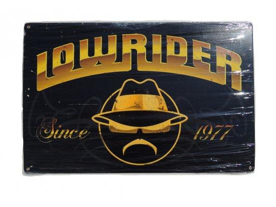 Lowrider Since 1977 Steel Sign ローライダー ガレージサイン USスチール製