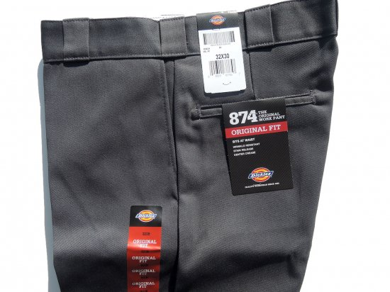 Dickies ディッキーズ Original 874 Work Pants  CH チャコール USA規格 L30