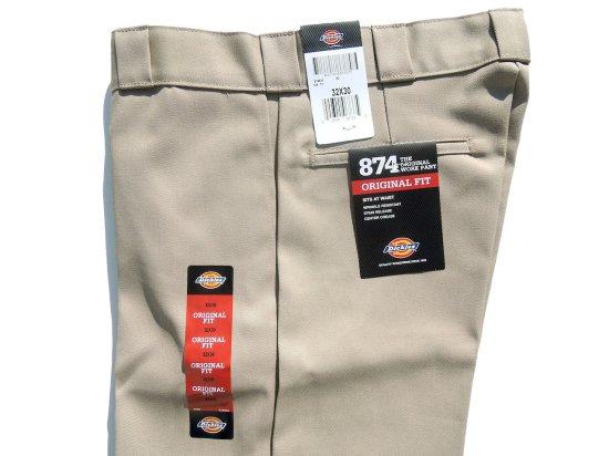 Dickies ディッキーズ Original 874 Work Pants  KH カーキ USA規格 L32