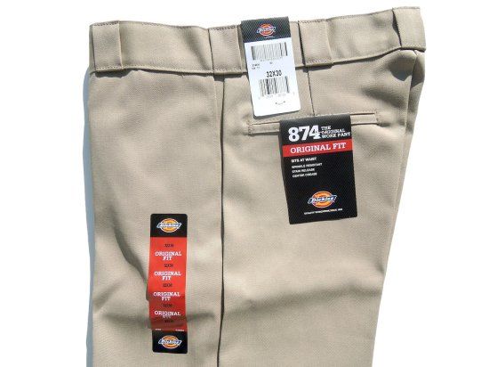 Dickies ディッキーズ Original 874 Work Pants  KH カーキ USA規格 L30