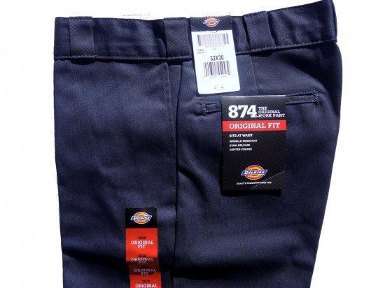 Dickies ディッキーズ Original 874 Work Pants  DN ダークネイビー USA規格 L32