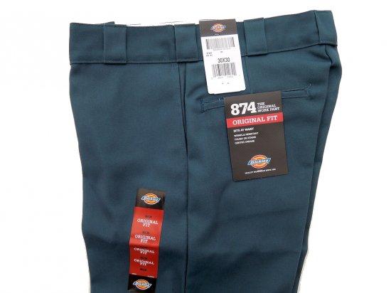Dickies ディッキーズ Original 874 Work Pants  AF  エアフォースブルー USA規格 L30