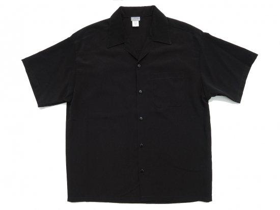 CalTop キャルトップ Dress Camp Shirt  オープンカラー ルーズシャツ BLACK