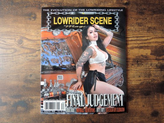 LOWRIDER SCENE MAGAZINE ローライダーシーン Vol.22