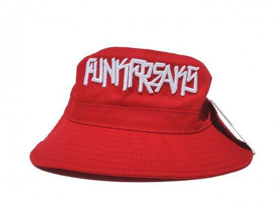 FUNK FREAKS ファンクフリークス BUCKET HAT RED