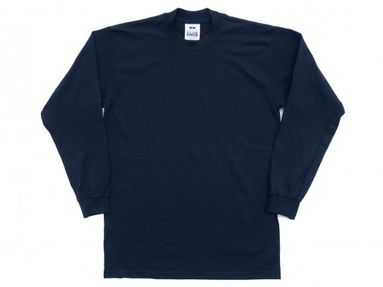 PRO CLUB プロクラブ  Men's Heavyweight Long Sleeve Tee  NAVY